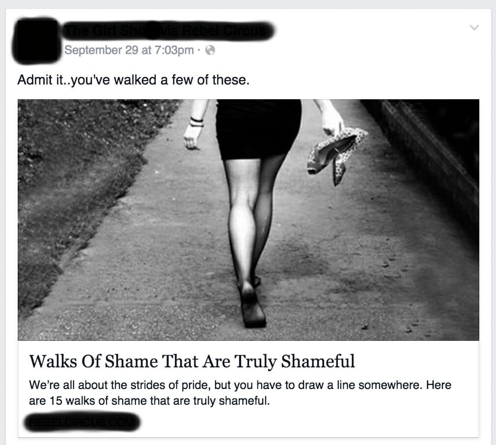 over-sharing on social media
